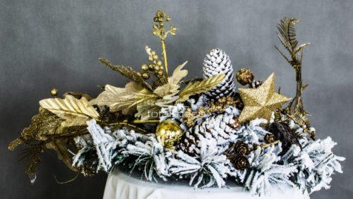 Dekoracja świąteczna stroik na stół