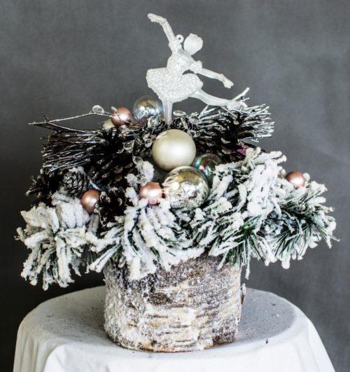 D ekoracja świąteczna stroik