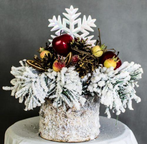 Dekoracja świąteczna stroik