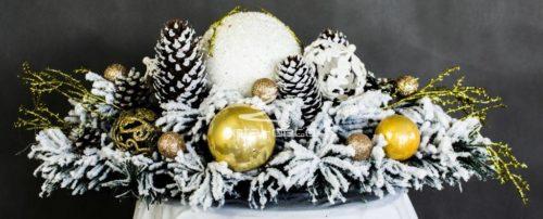 Stroik na stół dekoracja świąteczna