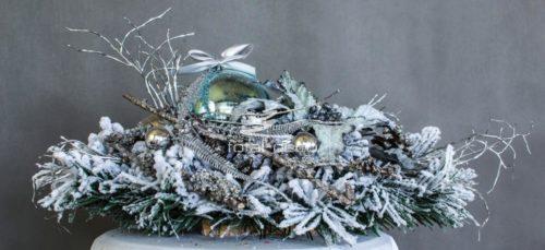 Stroik dekoracja świąteczna