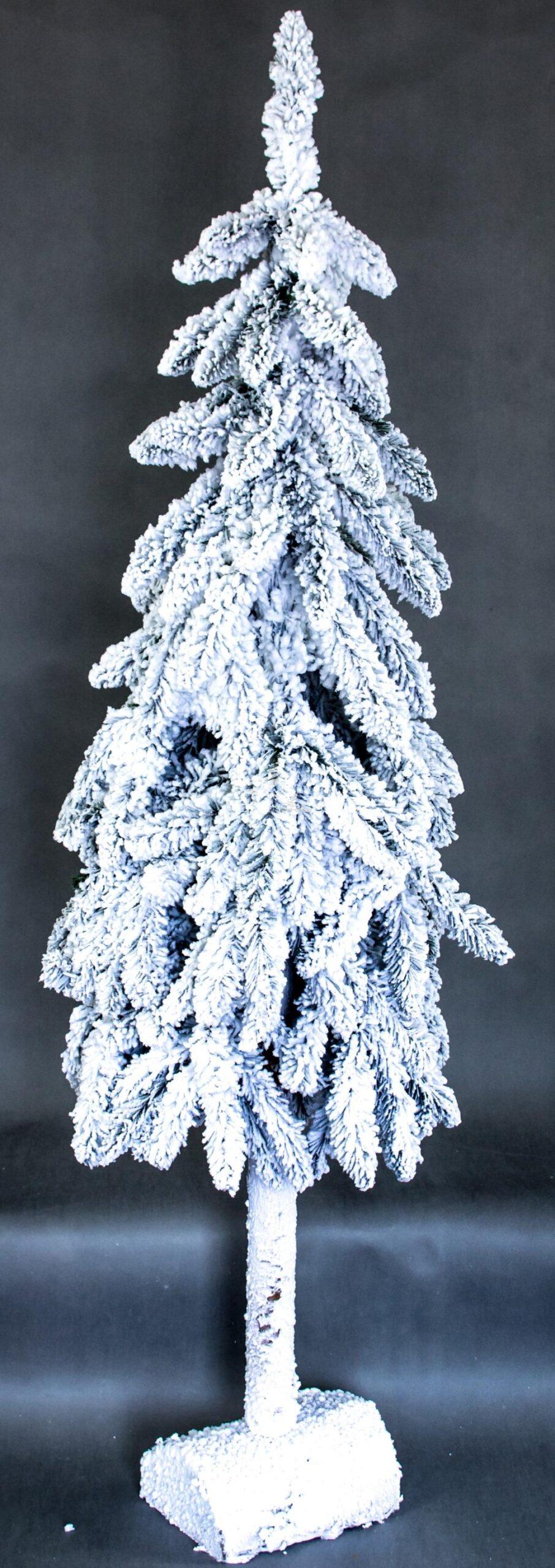 nowoczesna choinka/biała dekoracja świąteczna