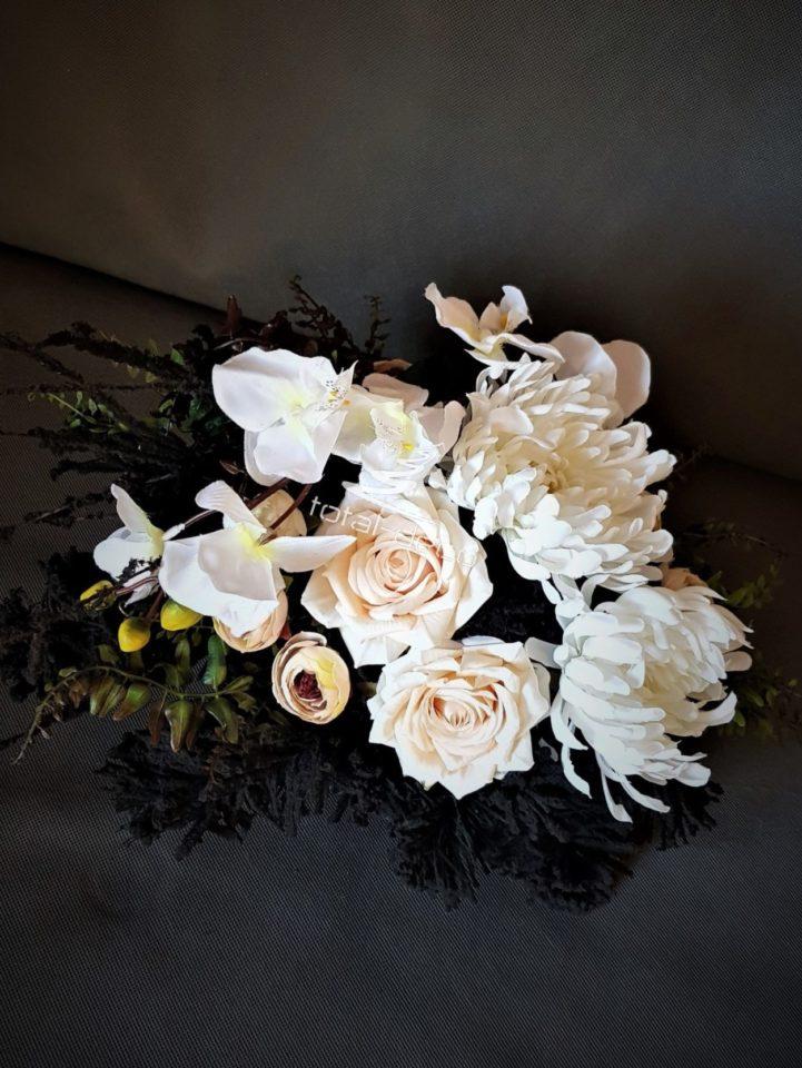 stroik na wszystkich świętych/kompozycje na cmentarz