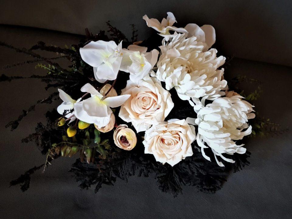 dekoracja nagrobna/wiązanki na cmentarz najtaniej