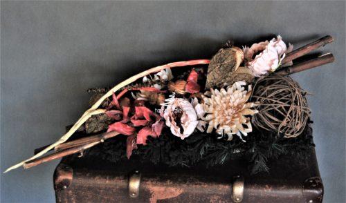 dekoracja nagrobna,stroik na cmentarz