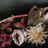 gustowne wiązanki na cmentarz/rustykalne stroiki nagrobne tanio