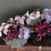 sztuczne wiązanki na wszystkich świętych/e dekoracje nagrobne