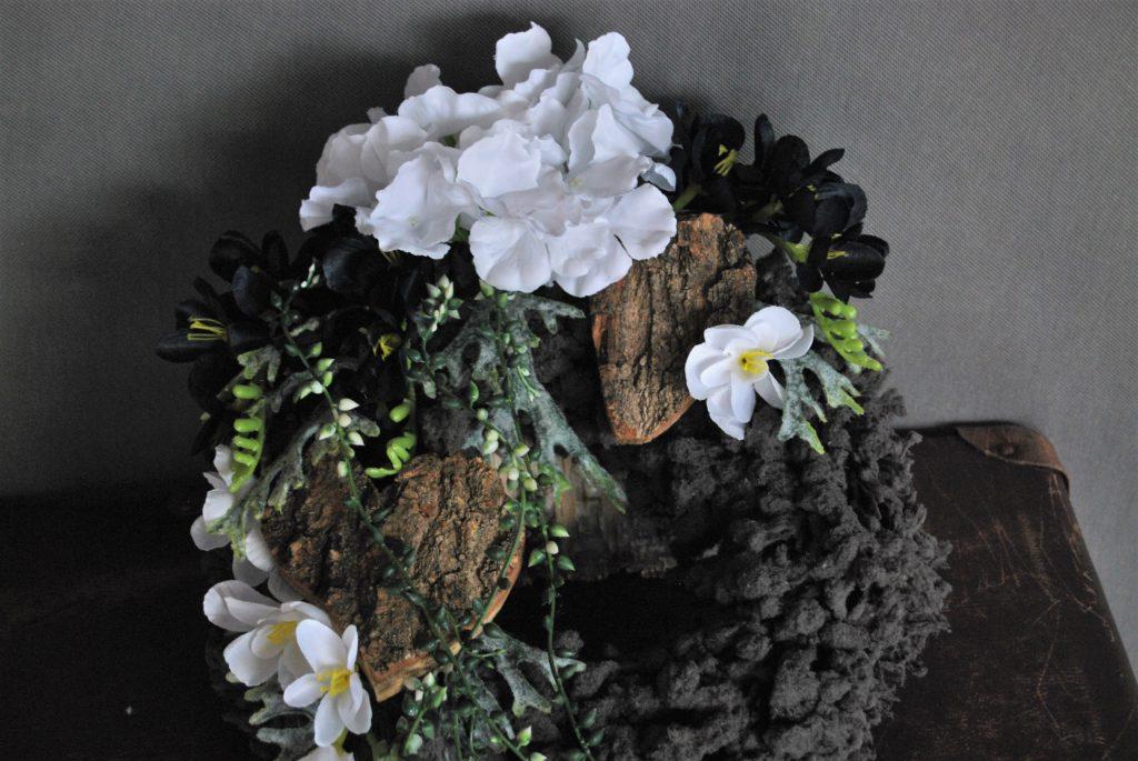 wianek na cmentarz-stroiki na wszystkich świętychi