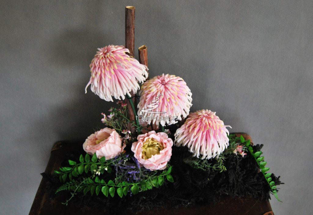 Wiązanki na pomnik-ładne stroiki na cmentarz