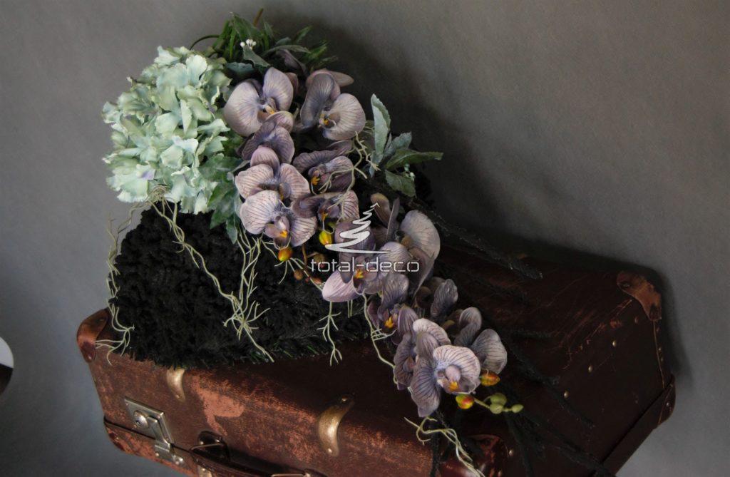 Kompozycja funeralna -e dekoracje na cmentarz