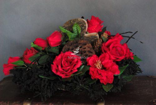 dekoracje nagrobne klasyczne kompozycje naświęto zmarłych sklep internetowy