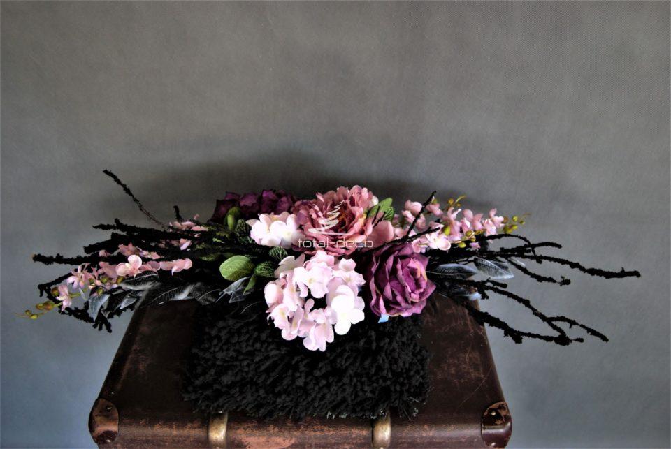 dekoracja nagrobna stroik na cmentarz nowoczesny