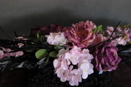 dekoracja nagrobna-sztuczne kwiaty na cmentarz e sklep