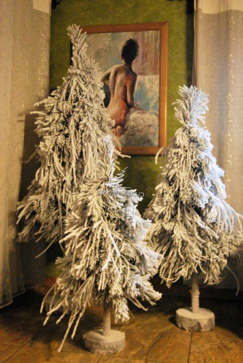 Choinka ośnieżona białe choinki na pniu sklep internetowy choinki ośnieżone choinki na pniu producent ośniezone dekoracje
