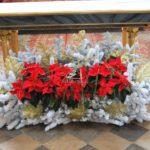 Dekoracja świąteczna ołtarza