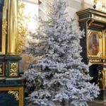 świąteczne wystroje kościoła