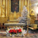 Ozdoby choinki i kompozycje kościelne
