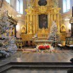 wystrój kościoła na bożenarodzenie