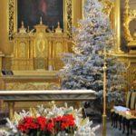 Dekoracja świąteczna kościoła