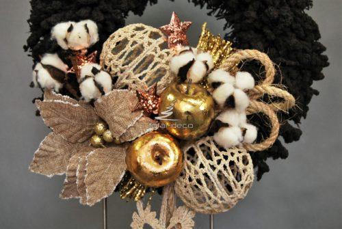 Wianek dekoracja świąteczna