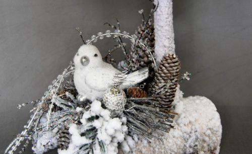 Dekoracja zimowa świąteczna