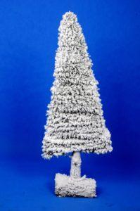 Nowoczesna choinka świąteczna
