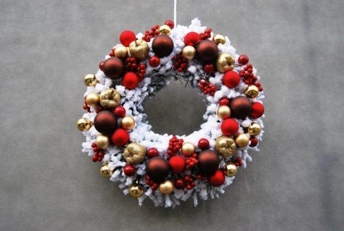 wianek świąteczny/wieniec na Boże Narodzenie