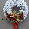 wianek świąteczny/stroik bożonarodzeniowy na drzwi