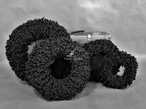 oryginalne czarne wianki solidne i grube w 4 rozmiarach