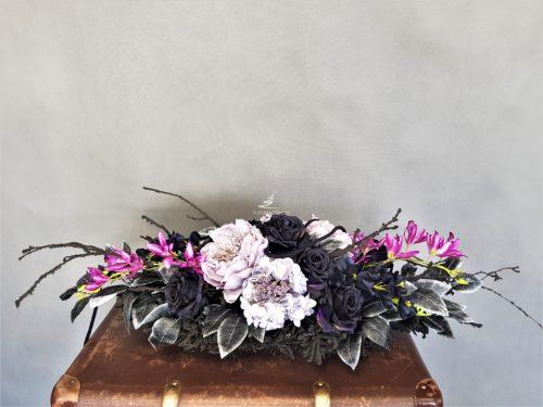 sztuczne kwiaty na grób,wiązanka