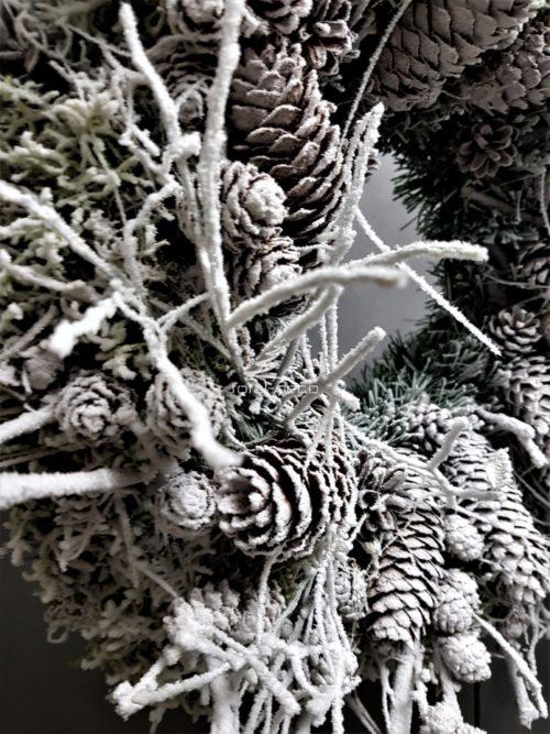 wieńce adwentowe-wianki bożonarodzeniowe
