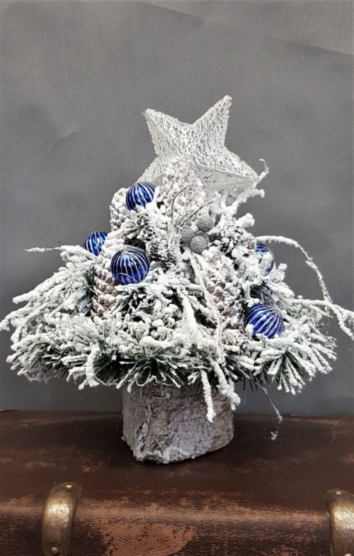 piękny stroik bożonarodzeniowy/dekoracja wigilijna