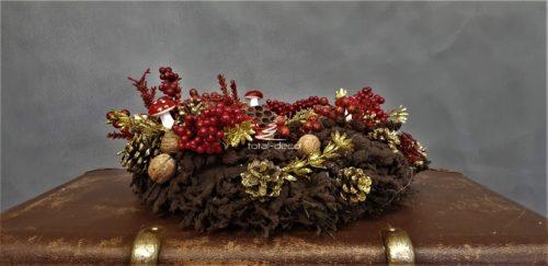 wianek świąteczny/dekoracja bożonarodzeniowa