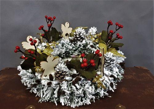wianek świąteczny/stroiki bożonarodzeniowe
