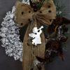 nowoczesny wianek na drzwi wianek świąteczny dekoracja bożonarodzeniowa piękne wianki na drzwi wianek adwentowy wieniec udekorowany wianek
