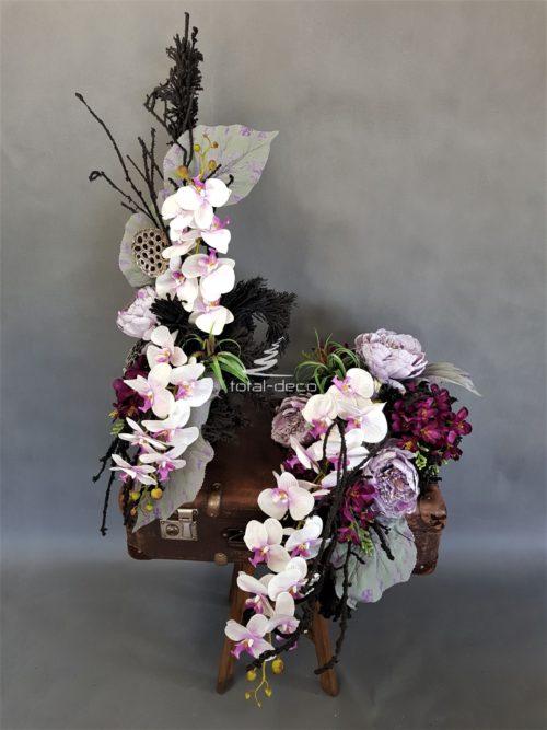 stroiki na cmentarz/wiązanki z bukietami na święto zmarłych