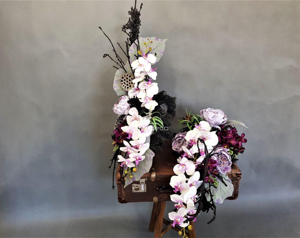 wiązanka z bukietem na cmentarz,dekoracje na wszystkich świętych