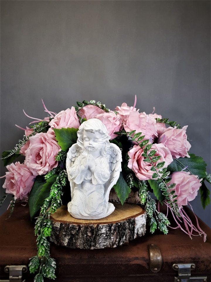 kompozycja na cmentarz/dekoracje na święto zmarłych