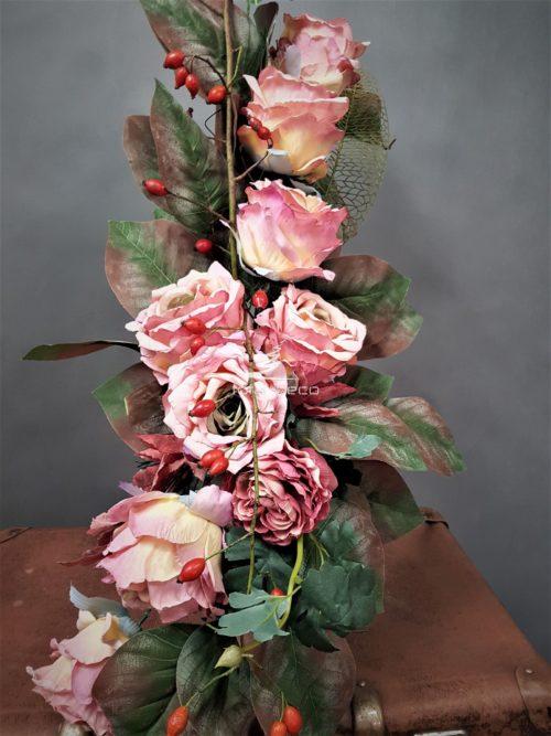Bukiet ze sztucznych kwiatów na cmentarz-najtańszy sklep internetowy