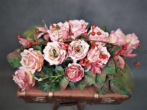 sztuczne stroiki na cmentarz/sklep online