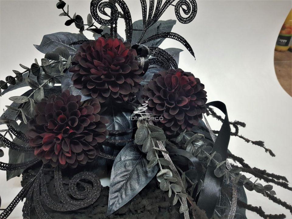 ciemne stroiki na cmentarz-wianki nagrobne e sklep