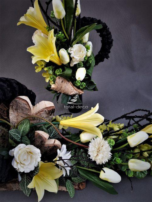 zestaw dekoracji nagrobnych-e dekoracje na cmentarz