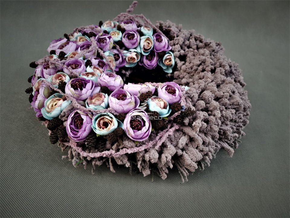 dekoracyjny wianek kwiatowy/kompozycje kwiatowe sklep internetowy