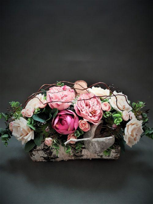 kompozycje nagrobne/stroiki na cmentarz w brzozie