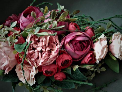 wiązanki na cmentarz ze sztucznych kwiatów/e dekoracje nagrobne