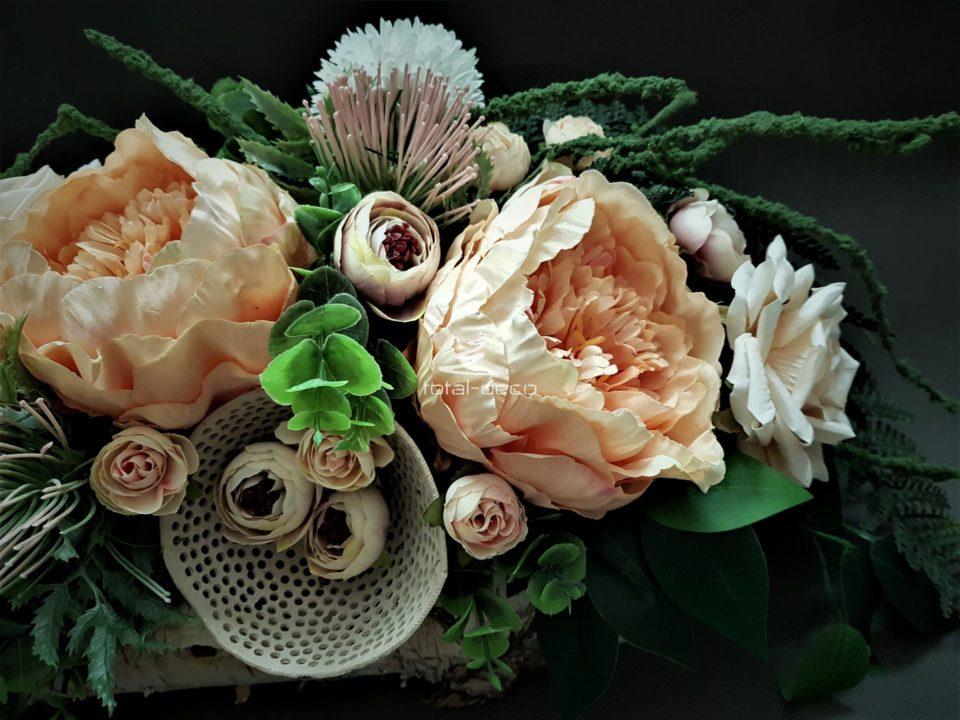 dekoracja kwiatowa na grób/e stroiki na cmentarz