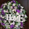 stroik kwiatowy do zawieszenia/e wianki dekoracyjne