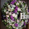 bogaty wielki wianek kwiatowy/sklep internetowy