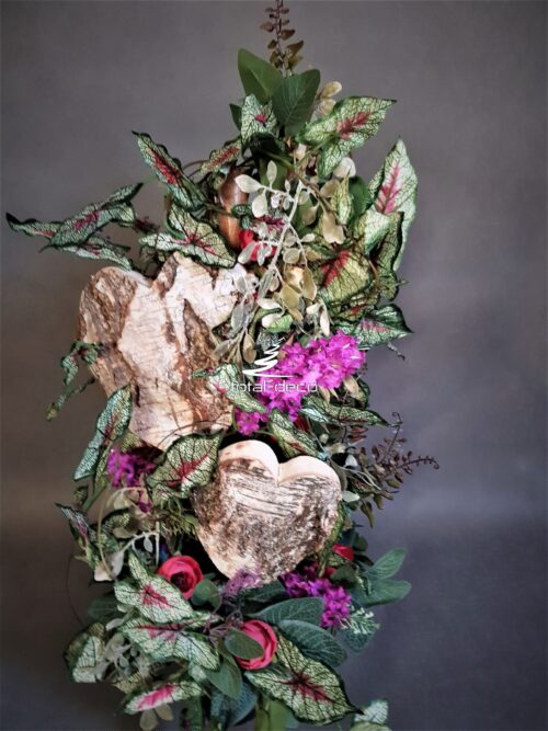 kompozycja do wazonu na cmentarz