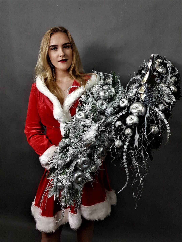 TOTALDECO-producentdekoracje bożonarodzeniowe,choinki,stroiki na cmentarz